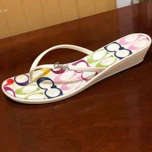 Coach Shoes - Coach Dorann Stamp Summer Sandal